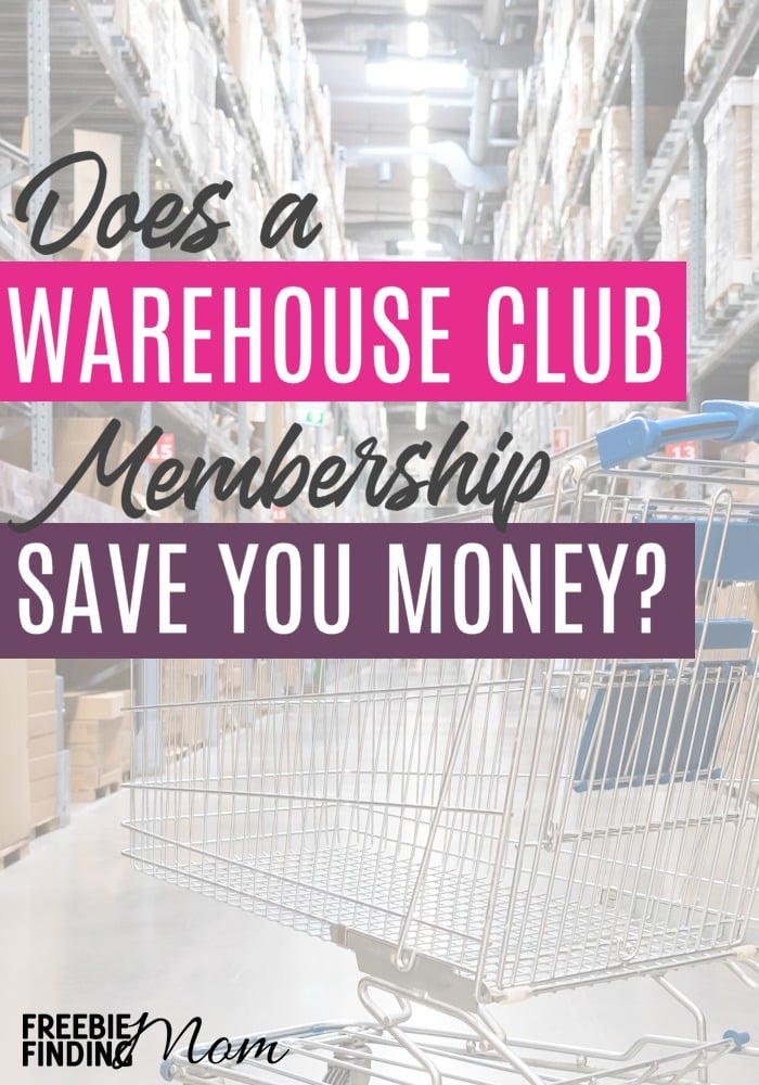 Do warehouse club memberships really save you money? Before you join your local Sam's Club Warehouse, BJ's Warehouse Club or Costco Warehouse Club find out the three questions you need to ask yourself, so you don't waste your money. #warehouseclub #warehouseclubmembership #samsclubwarehouse #bjswarehouseclub #costcowarehouseclub