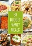 58 Budget Family Meals
