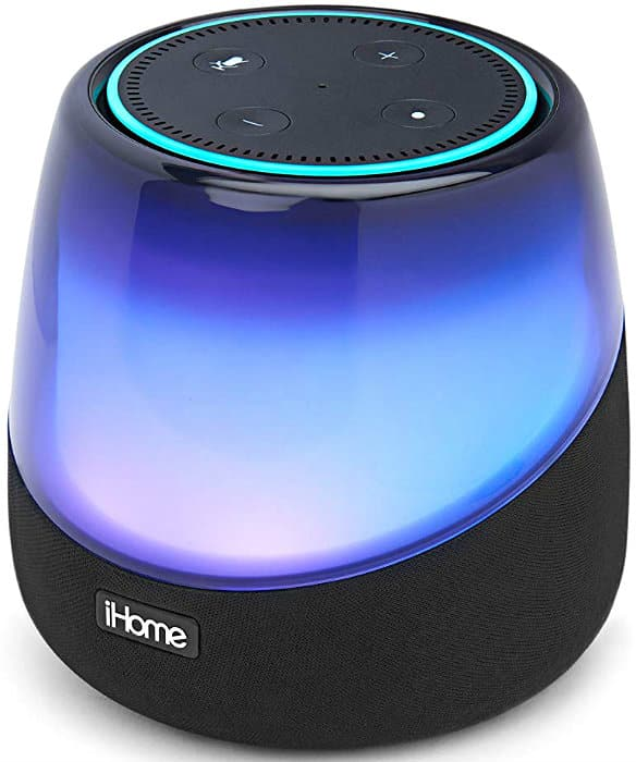 iHome iAV5 Color Changing Bluetooth Rechargeable Speaker