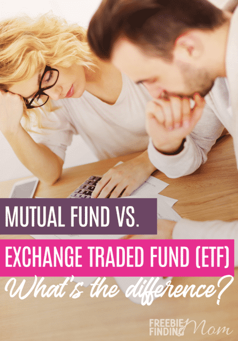 Do you want to know what is a mutual fund vs exchange traded fund? Here you'll learn the basics about these two investment options including the mutual funds and exchange traded funds definitions. You'll also learn why you may choose one investment over another. #etfinvesting #etffacts #etfvsmutualfund #mutualfundsforbeginners