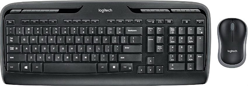 Logitech Wireless Desktop Keyboard and Mouse Combo