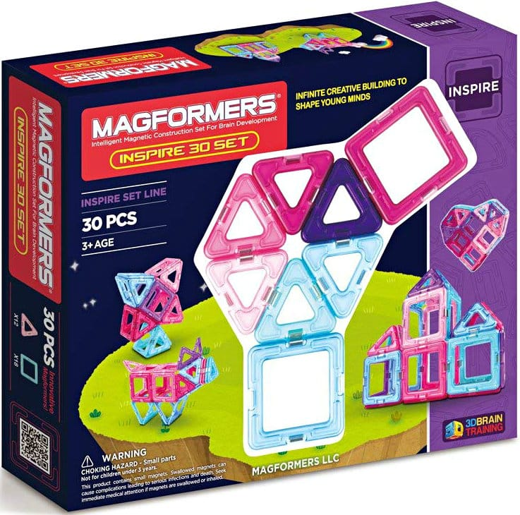 30-Piece Magformers Inspire Set