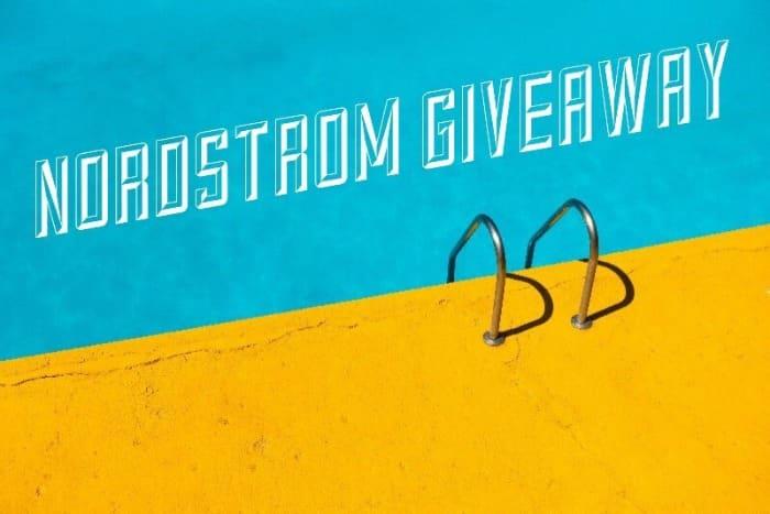 Nordstrom Giveaway banner