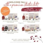 Sale Extended! Yay! 10% Off Young Living Premium Starter Kits Through Tuesday, September 18