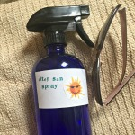 DIY After Sun Spray