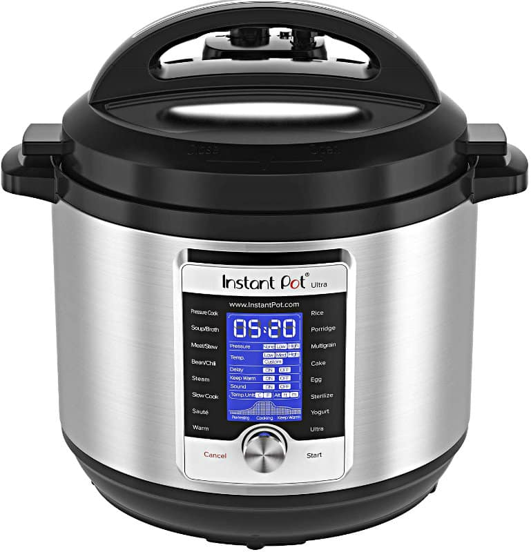 Instant Pot Ultra 8 Qt 10-in-1 Multi-Use Programmable Pressure Cooker