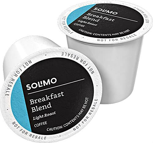 Solimo Light Roast Coffee Pods