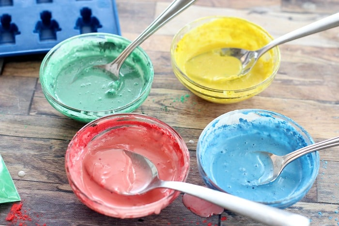 colored soap bowls for homemade crayons recipes for toddlers