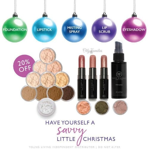 Savvy Minerals Makeup on sale