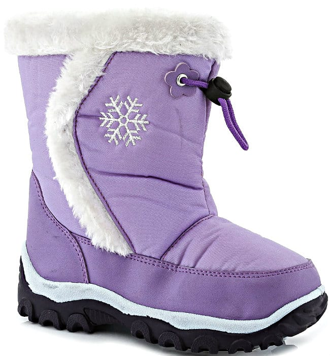 Lilac Snow Boot