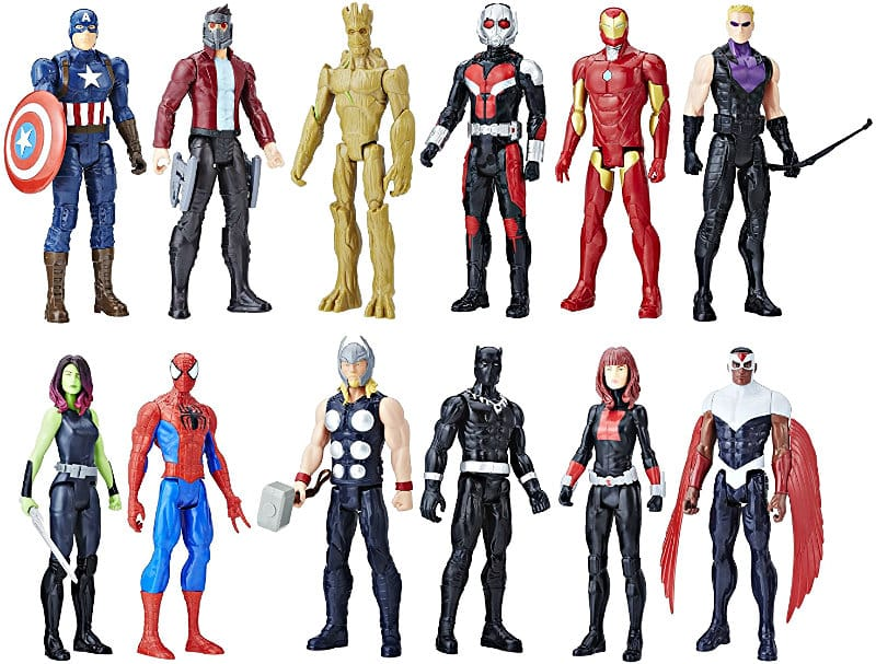 Avengers Titan Hero Series 12 Pack
