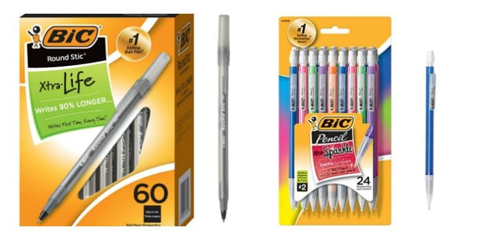 BIC Writing Sale