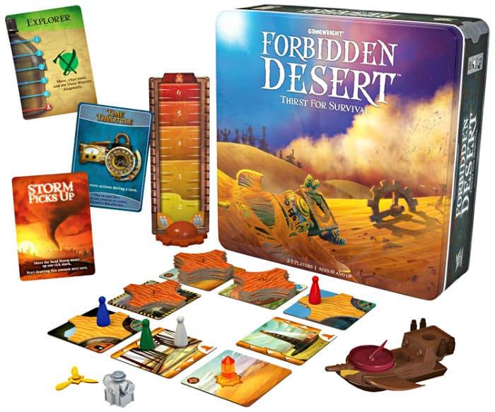 Forbidden Desert Strategy Board Game