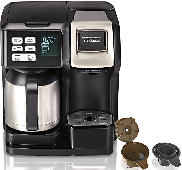 Hamilton Beach FlexBrew Coffee Maker with Thermal Carafe