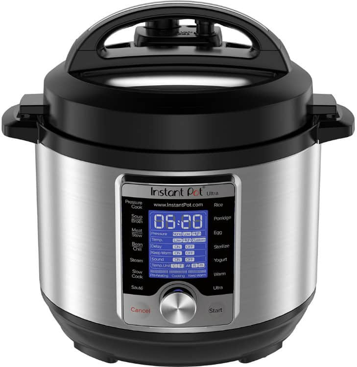 Instant Pot Ultra 3 Qt 10-in-1 Multi Use Programmable Pressure Cooker
