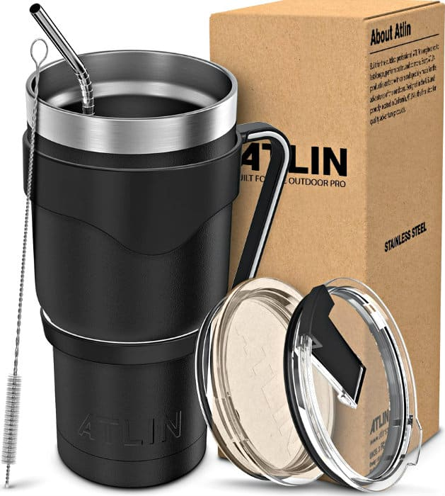 Atlin Double Wall Stainless Steel Tumbler