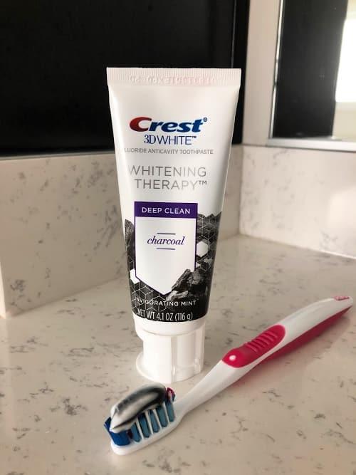 Crest Charcoal Paste