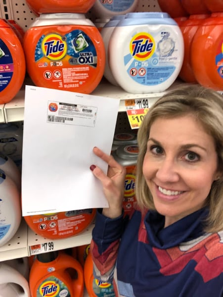 Tide PODS In store