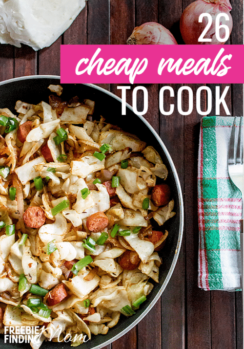 Cheap meals to cook