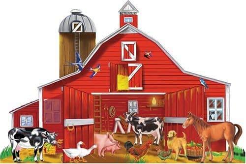 Melissa & Doug Farm Friends Puzzle