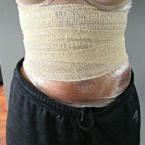 DIY Lose Weight Body Wrap
