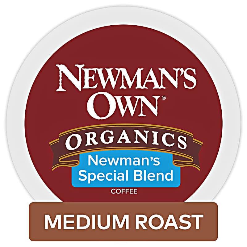 Newman's Own Organics Special Blend Medium Roast Coffee K-Cup Pod