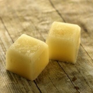 DIY Beauty Care: Homemade Sugar Scrub Bars With Coconut Oil
