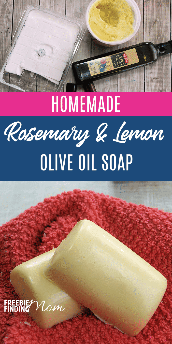 Looking for a rich, moisturizing soap that isn't loaded with unnatural ingredients and will work wonders on your skin? Look no further. This Homemade Olive Oil Soap recipe offers all of that with just 5 ingredients. #homemadesoaprecipesforbeginners #homemadesoapwithessentialoils #diysoapbarsforbeginners