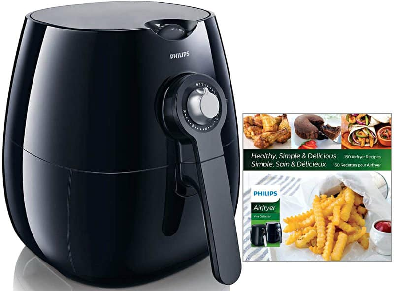 Philips Viva Airfryer with cooking booklet