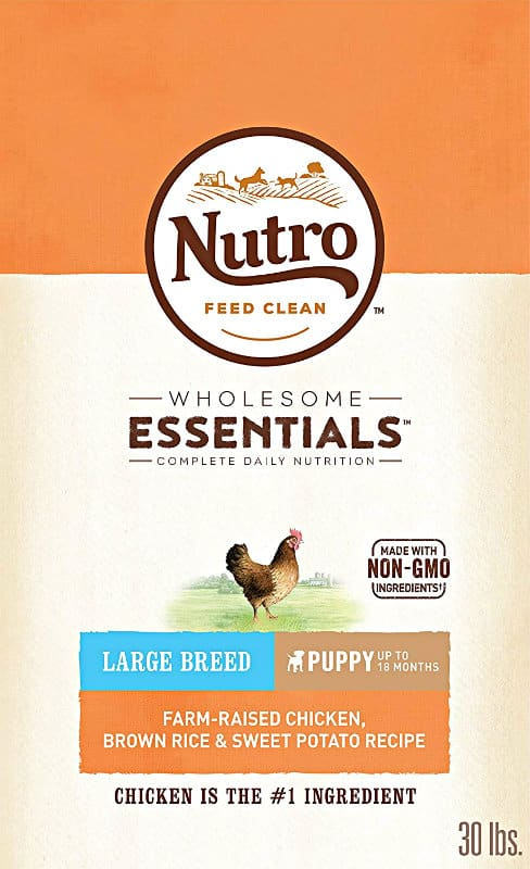 Nutro Wholesome Essentials Dry Dog Food for Large Breed Puppies & Adult