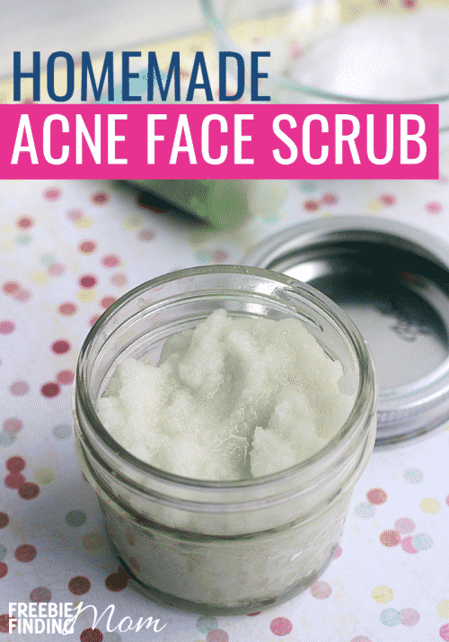 Homemade Acne Face Scrub Diy Beauty Recipe