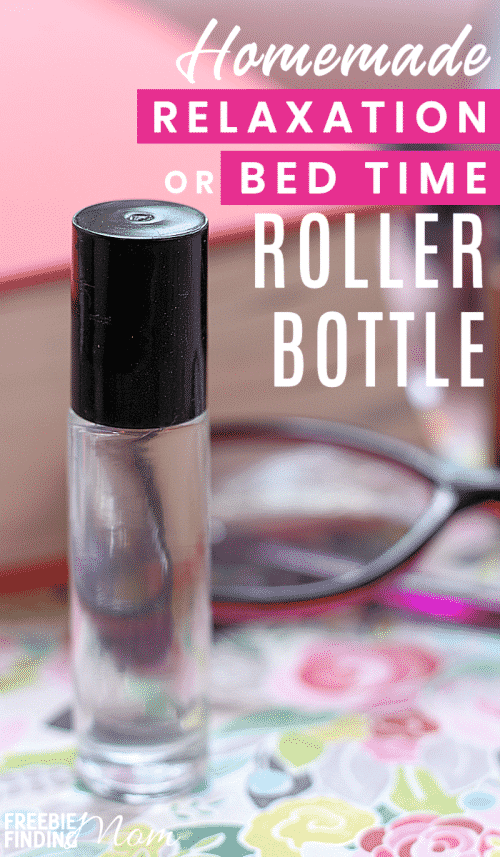Do you need help unwinding and relaxing after a long day? You can whip up homemade essential oil recipes like this DIY Relaxation Roller Bottle to help you destress and have a restful night's sleep in just minutes. #bedtimerollerblendessentialoils #homemadeessentialoilsdiy #relaxationrollerballrecipe #rollerballessentialoilrecipes