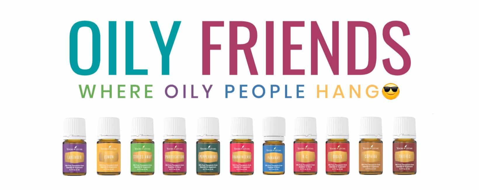 Oily Friends Facebook Group Banner