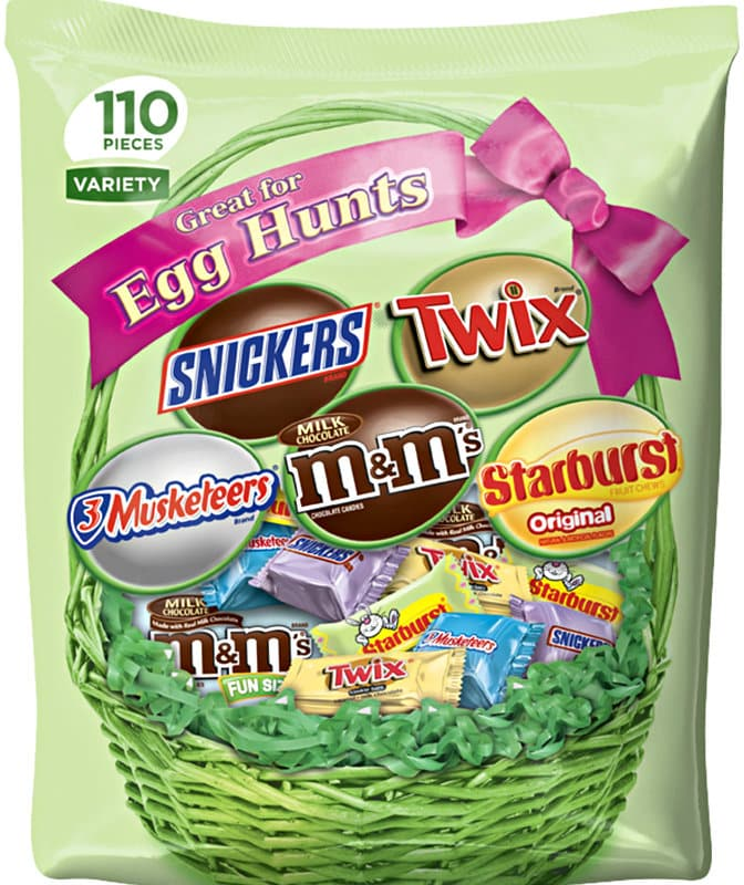Mars Chocolate & More Easter Spring Candy Variety Mix