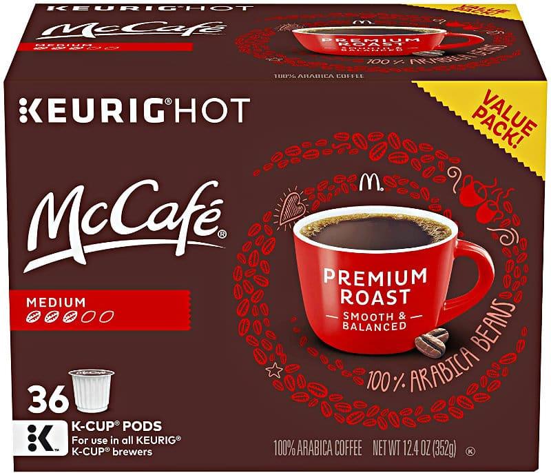 McCafé Premium Roast Coffee K-Cup Pods