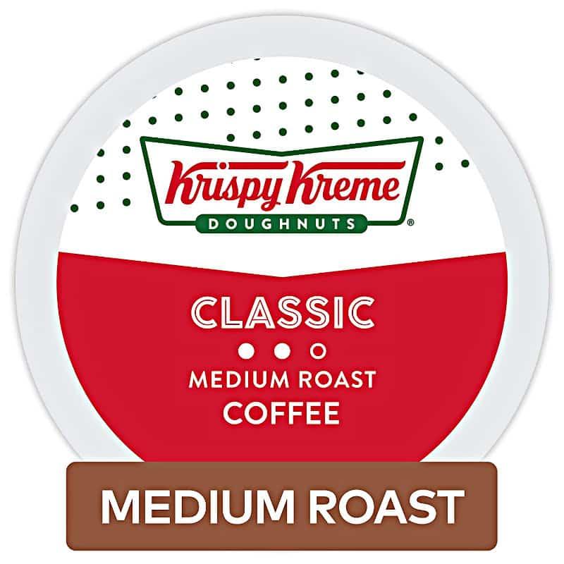 Krispy Kreme Doughnuts Smooth/Classic Coffee
