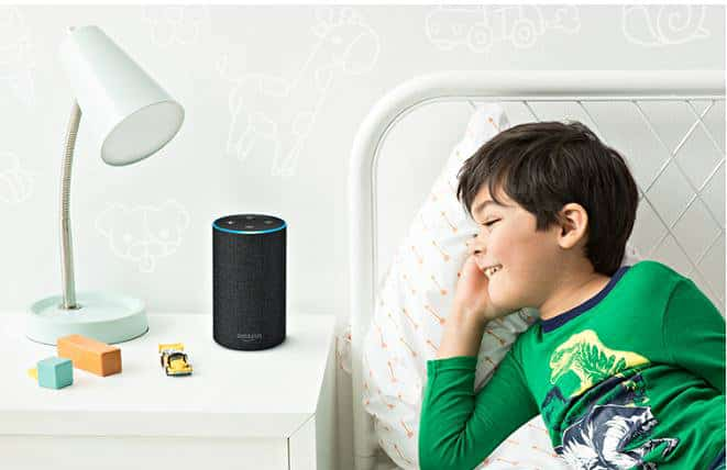 Amazon Echo 2nd Generation in use
