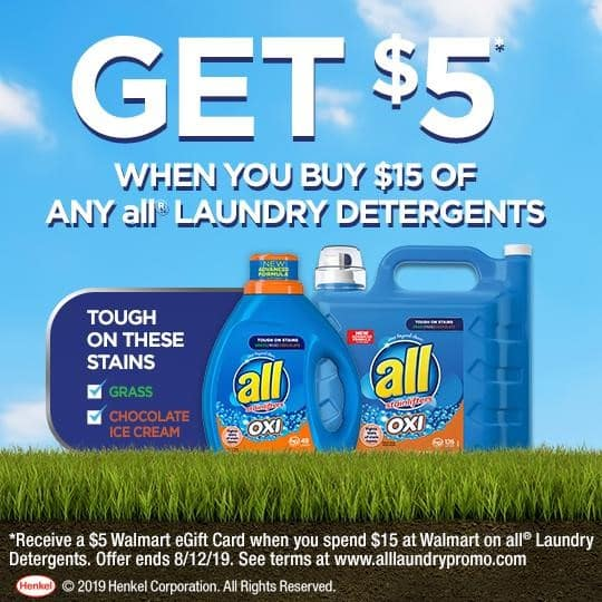 All OXI Laundry Detergent