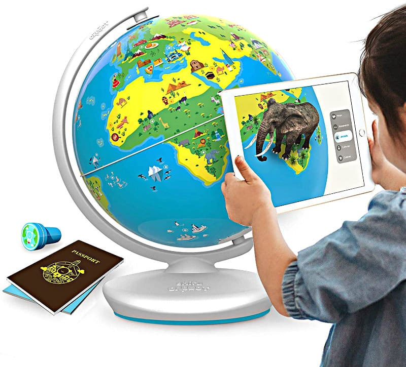 Shifu Orboot Augmented Reality Interactive Globe for Kids