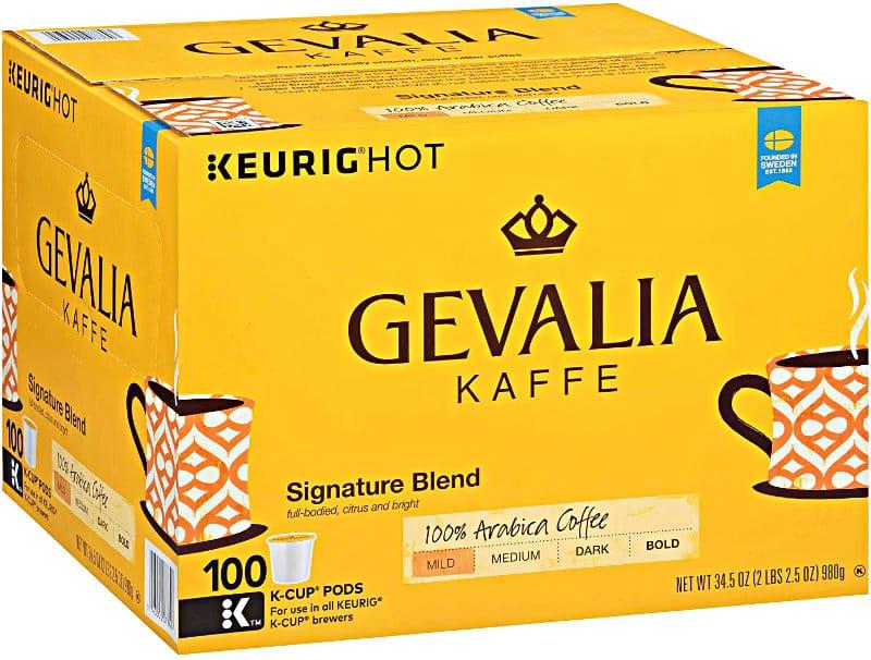 Gevalia Signature Blend Keurig K Cup Coffee Pods