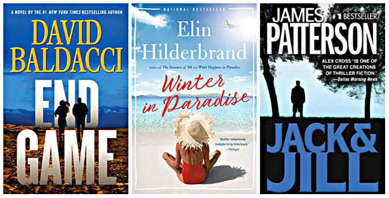 Winter in Paradise, End Game, and Jack & Jill Kindle books