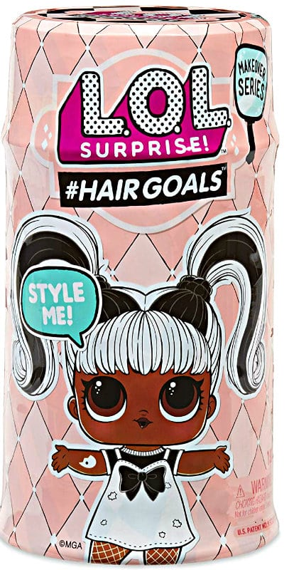 L.O.L. Surprise Hairgoals Makeover Series with 15 Surprises