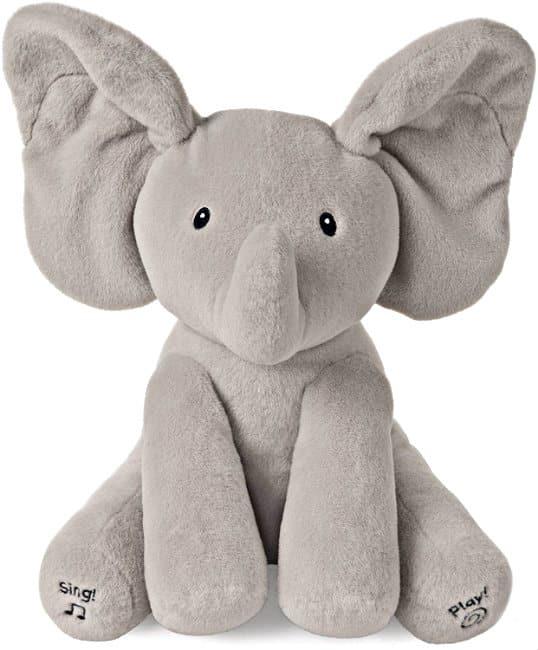 Baby GUND Animated Flappy the Elephant Stuffed Animal Plush