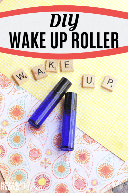 Do you feel tired and sluggish? If you want an all-natural pick me up, then try this Homemade Wake Up Roller and use essential oils for energy and focus. This blend uses three uplifting essential oils (orange, tangerine, and bergamot) that will encourage you, add positivity to your day, and help give you that natural energy boost you need to help you power through your day! #essentialoilsforenergyboost #essentialoilsforenergyandfocus #essentialoilsformotivationandenery