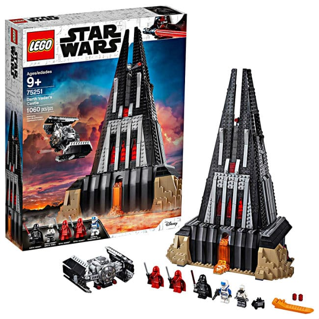 LEGO Star Wars Darth Vader's Castle Building Kit