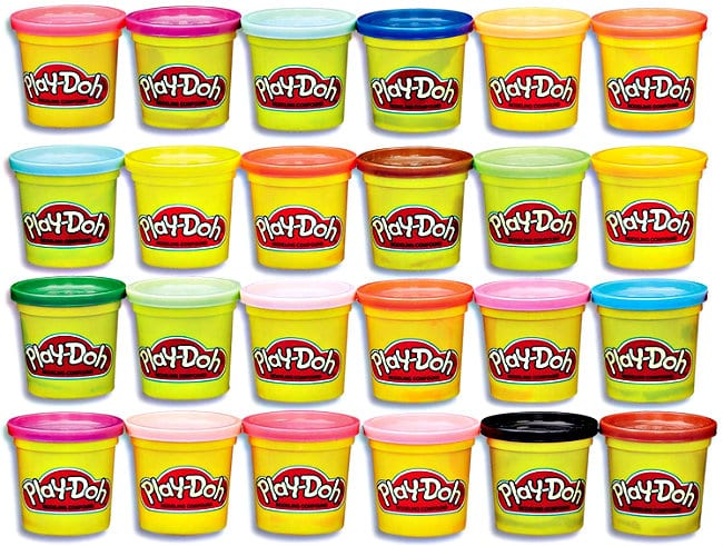 Play-Doh Modeling Compound 24-Pack Case of Colors