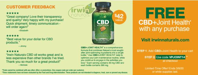 Irwin Naturals CBD