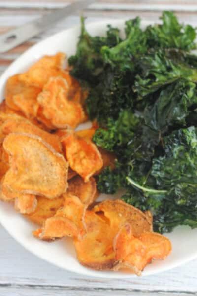 homemade veggie chips