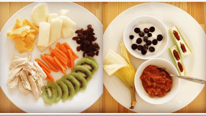 Lunch for toddlers doesn't have to be complicated; toddler lunch ideas like cheese and fruit are quick and easy.