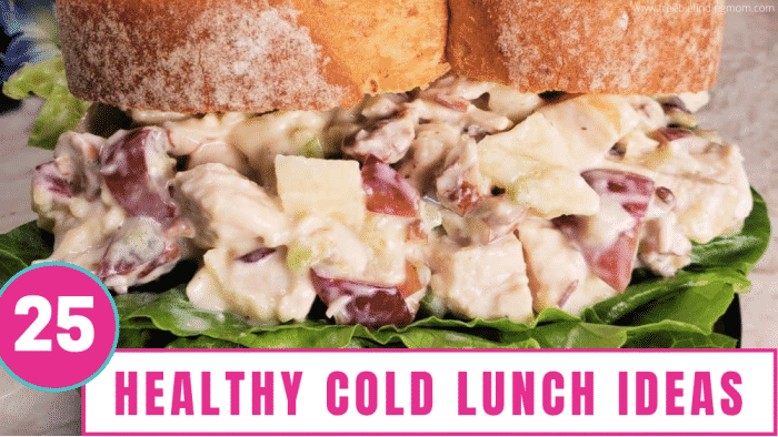These 25 cold lunch ideas are nutritious, delicious, and budget friendly